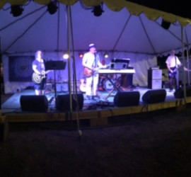 Granite Planet plays the Stratham Fair, 2016